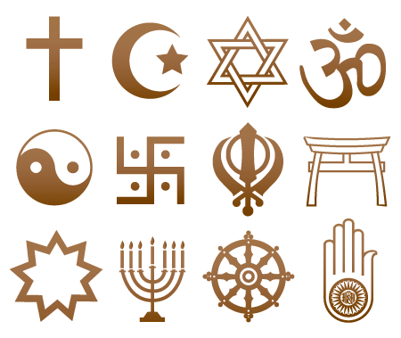 Religious Symbols and Their Religion
